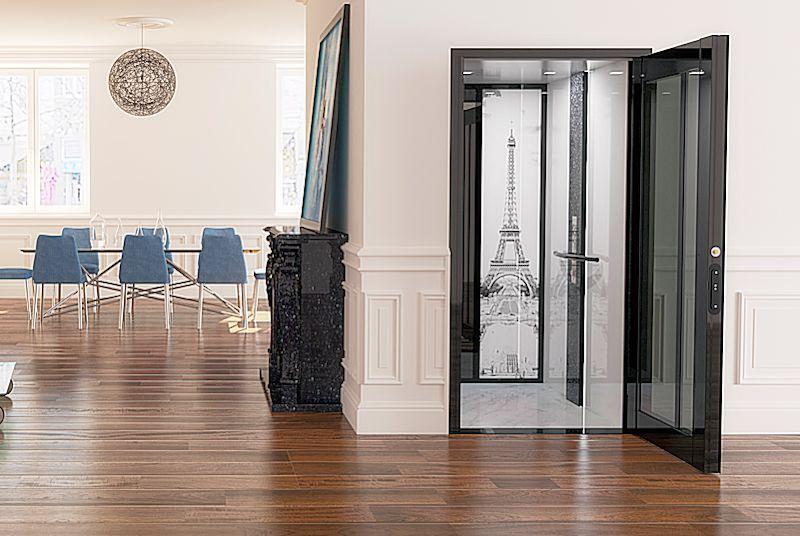 Lift In Huis : Personenlift hl 8500 design opties domilift b.v.