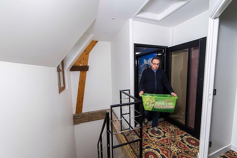 Lift In Huis : Personenlift in huis hl domilift b v