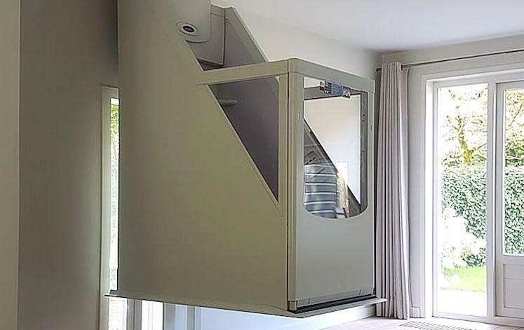 Lift In Huis : Huislift met of zonder schacht domilift b.v.